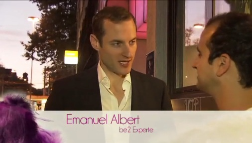 (Bild © ichsuchedich.tv Sat1-Schweiz) Abschnitt mit mir als Dating-Experte ab 6:48 Min