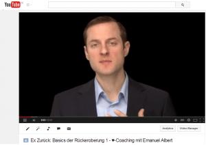 DateDoktor Emanuel coacht jetzt kostenlos auf youtube